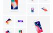 精心制作的iPhone 8&x硅胶套设计案例模型素材下载