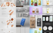 15套食品饮料袋包装展示效果图样机、VI品牌提案神器、智能贴图模板PSD源文件打包下载 -资源大小4.81GB,包含PSD源文件