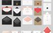 20款时尚商业杂志、传单、名片、企业公司邀请函、文具品牌VI设计展示模型样机素材PSD源文件打包下载 – 资源大小14.7GB,包含PSD源文件