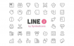 372个扁平化线条样式图标素材下载
