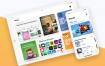 10款潮流时尚移动设备iPhone X,iPhone 8,iPhone 8 Plus和iPad模型样机产品展示作品展示PSD源文件下载