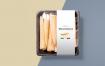 30款有机食品包装盒模板样机PSD素材源文件打包下载