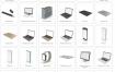 240+个3D模型素材高清生活用品、电脑、文具等大合集PSD分层源文件 – 资源大小14GB,包含PSD源文件