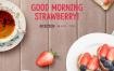 15款草莓季水果清新爱心粉红早餐下午茶西餐甜点派对餐饮PSD设计素材 – 资源大小2.15GB,包含PSD源文件
