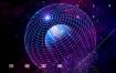 13款空间宇宙太空星球星系科技故障星云渐变海报PSD素材