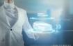 13款人工智能未来科技指纹认证投影科学技术数据化合成海报PSD素材