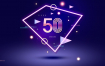 20款聚会派对活动海报发光字效霓虹灯夜景促销专题PSD设计素材