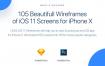 iPhone X 超过100+以上的最新ios11 app规范设计原型
