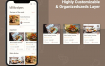 50个完美的毕业设计作品美食烹饪UI优质设计素材下载(提供PSD,Sketch和XD格式源文件)