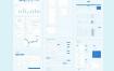 Web App快速原型设计线框工具包素材下载
