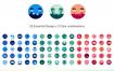 75个公司业务矢量图标优质设计素材下载
