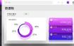 41款数据可视化图表PSD格式UI素材下载