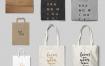 商业杂志传单名片企业公司邀请函文具品牌vi设计模版贴图样机素材