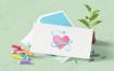 13款精品办公用品文具LOGO名片宣传册品牌VI平面设计贴图样机模版PSD素材3