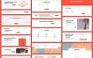 280个现代大气网页Web设计元素素材库素材下载(提供PSD,Sketch和XD格式源文件)