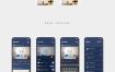 40个完整的社交iOS App UI套件优质设计素材下载(提供Sketch格式下载)