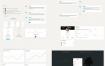 简洁清新的后台管理系统优质设计素材下载(提供PSD和XD格式源文件)