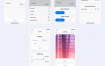 30多个完整的干净和现代布局的智能家居移动应用程序优质设计素材下载