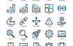 50个业务项目图标素材下载