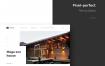 18个室内设计建筑公司企业网站界面设计素材下载