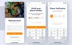 完整的美食食品app应用UI工具包设计素材下载