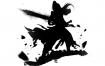 36款古风黑白水墨国风武侠仙侠侠客游戏形象剪影psd透明免抠设计模板