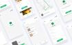 24个毕业设计优质送外卖美食手机UI界面优质设计素材下载(提供Sketch和Adobe XD格式下载)