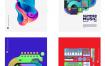 80个潮流音乐主题海报矢量素材