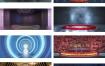 36款创意新电商C4D工程源文件立体舞台场景炫酷空间科技背景设计素材