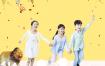 9款新场景卡通可爱儿童摄影美工合成海报宣传单PSD模版设计素材模板