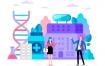 20款商务医疗科研网络电商购物网页卡通人物插画矢量AI设计素材
