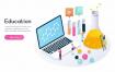 29款2.5D科技技术发展教育学习人工智能信息插画AI矢量设计素材