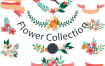 600多种森系小清新水彩花边花卉花草花环边框分割线装饰设计素材矢量源文件打包下载