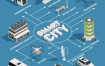 10款城市5G矢量插画素材打包下载