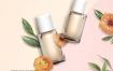 13款新创意女性美妆唯美鲜花浪漫花瓣花海化妆品香水植物海报PSD模板