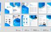 10套企业宣传册模板素材资源打包下载