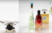21款C4D化妆品美妆护肤品口红香水电商工程文件场景3D模型设计素材