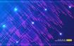 8款炫丽渐变线条射线抽象科技海报展板背景AI素材