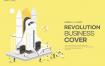 10款网络科技商务地产航天插画PSD格式