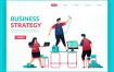 10款网络科技商务团队合作EPS素材