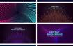 12款科技抽象放射线条主视觉KV海报展板背景AI素材