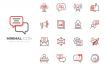 11款医疗商务金融网络购物icon图标AI格式源文件下载