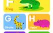 12款英语教育培训拼音字母学习AI素材源文件下载