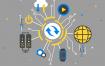 16款电子网络科技插画AI素材