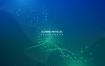 25款炫彩抽象扭曲波浪粒子线条科技活动海报展板主背景EPS素材