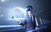12款VR游戏虚拟投影科技PSD格式