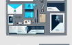 16款企业VIS视觉模板EPS素材