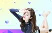 13款时尚炫彩孟菲斯人物背景PSD素材下载