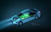 10款新能源电动汽车环保科技PSD格式