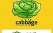 12款卡通水果蔬菜标志logo图标EPS素材